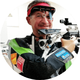 Shooting champion and olympic medalist Rajmond Debevec