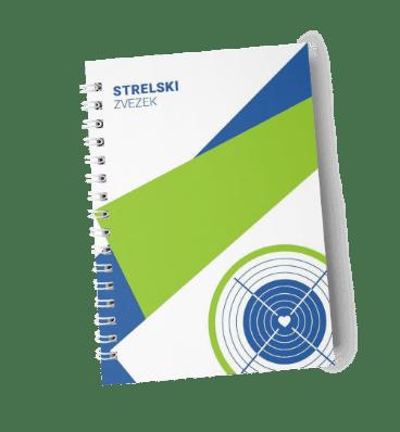 Cover of slovenian notebook Strelski zvezek
