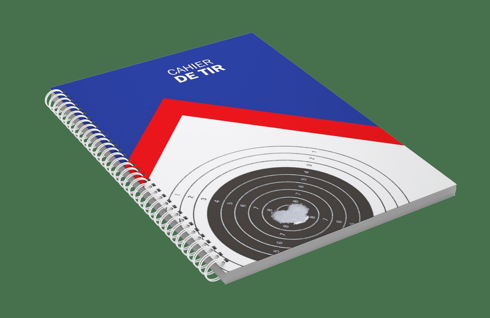 French Shooting notes shooting diary Cahier de Tir