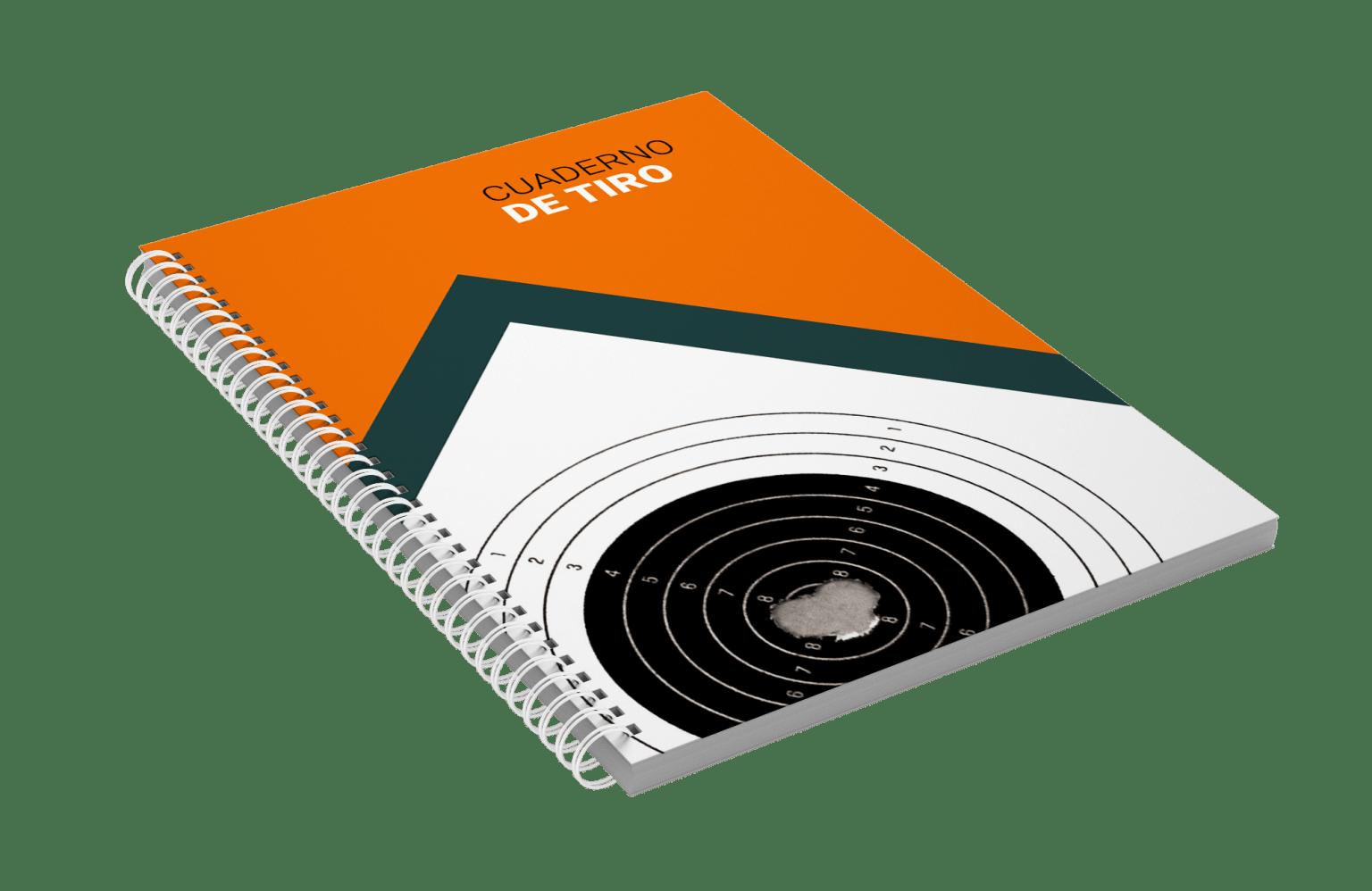 Cuaderno de Tiro shooting diary