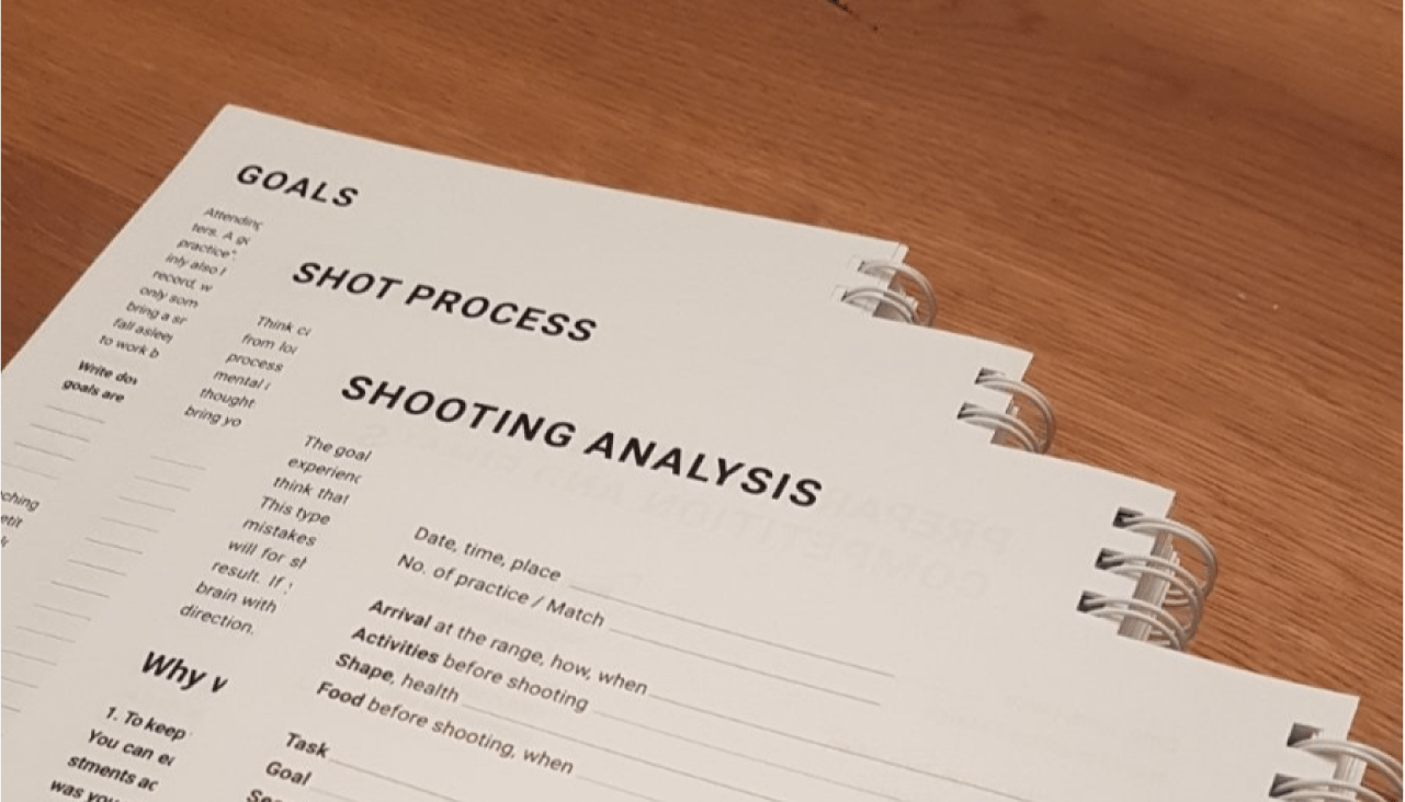 Three different chapters inside of the Shooting notes