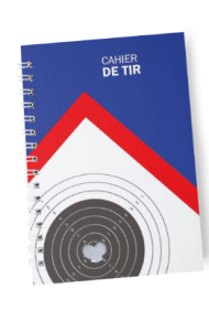Cover of french Cahier de tir shooting diary